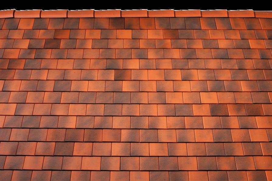 Tondach táska lekerekített tetőcserép antik