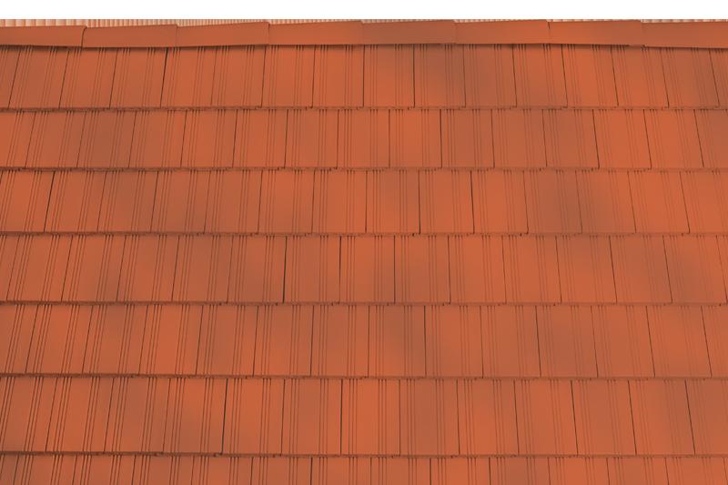 Tondach hornyolt egyenesvágású alapcserép antik