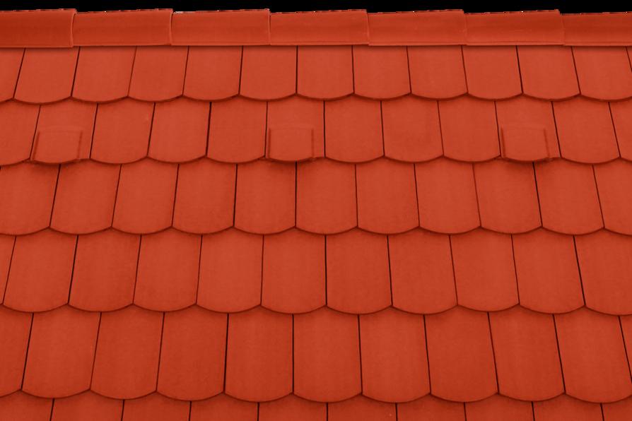 Tondach hornyolt hódfarkú alapcserép piros