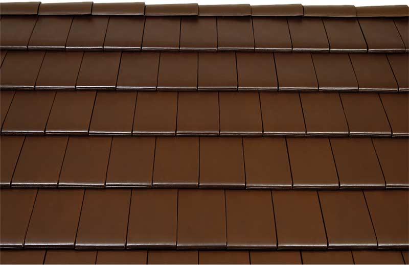 Tondach Figaro Deluxe tetőcserép sötétbarna