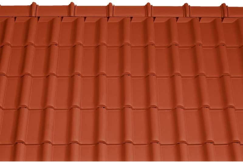 Tondach Rumba tetőcserép piros