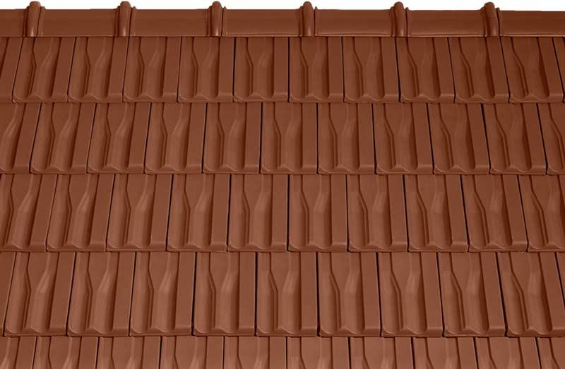 Tondach Tango Plus tetőcserép barna