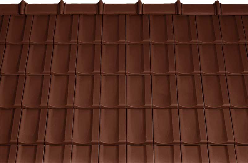Tondach Bolero tetőcserép barna