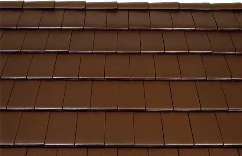 Tondach Figaro tetőcserép sötétbarna