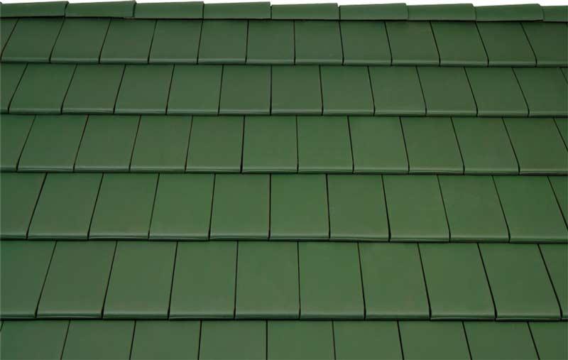 Tondach Figaro tetőcserép sötétzöld