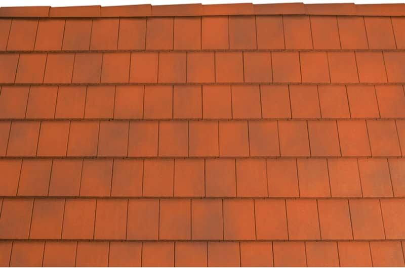 Tondach Pilis egyenesvágású tetőcserép antik