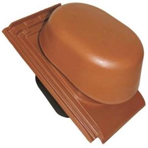 Tondach csatornaszellőző szett Figaro Deluxe tetőcseréphez téglavörös