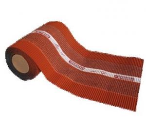 Tondach gerinc / él / élgerinc ólom lezárószalag Palotás és Rumba cseréphez 320 mm