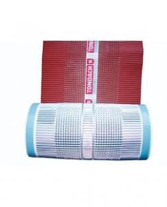 Tondach gerinc / él / élgerinc alimínium lezárószalag Hódfarkú,Hornyolt és Tangó cseréphez 280 mm/835g