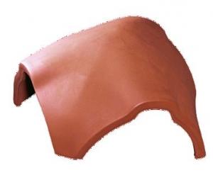 Tondach hármas gerincelosztó elem Figaro és Figaro Deluxe tetőcseréphez téglavörös