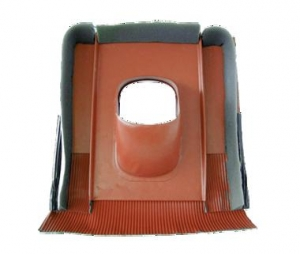 Tondach fém átmenőcserép sajtolt tetőcseréphez