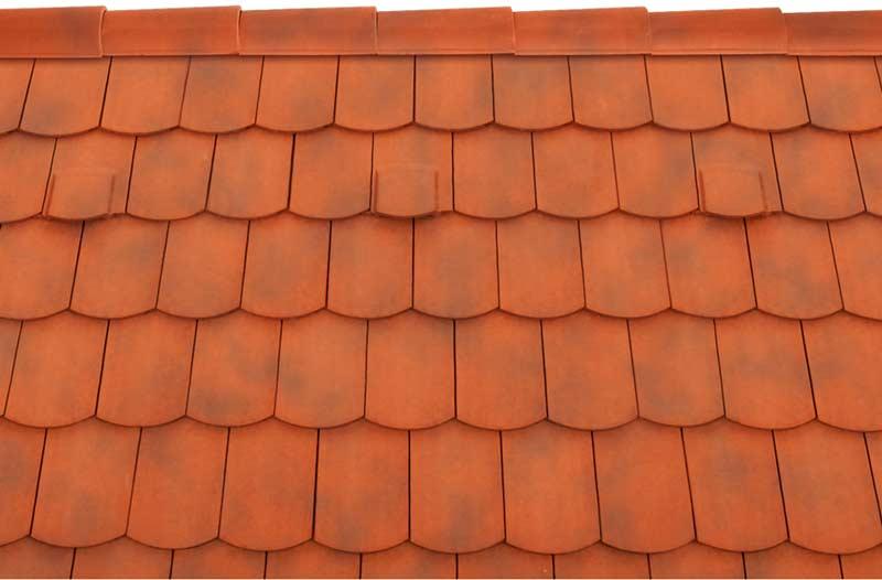 Tondach Pilis ívesvágású tetőcserép antik