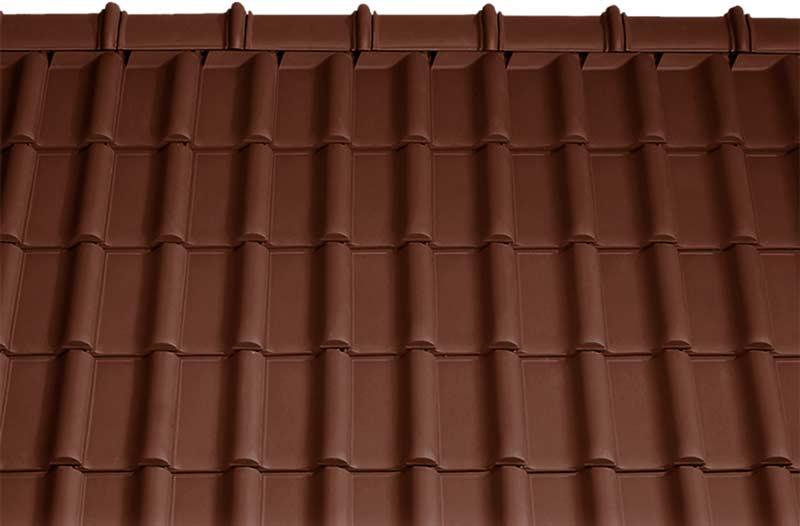 Tondach Rumba tetőcserép barna