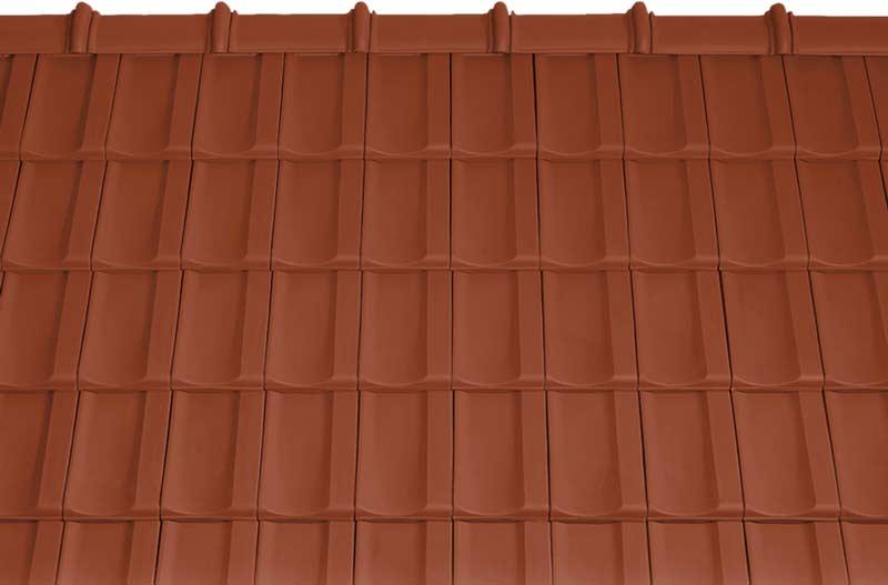 Tondach Bolero tetőcserép rézbarna