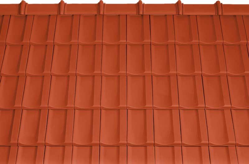 Tondach Bolero tetőcserép piros