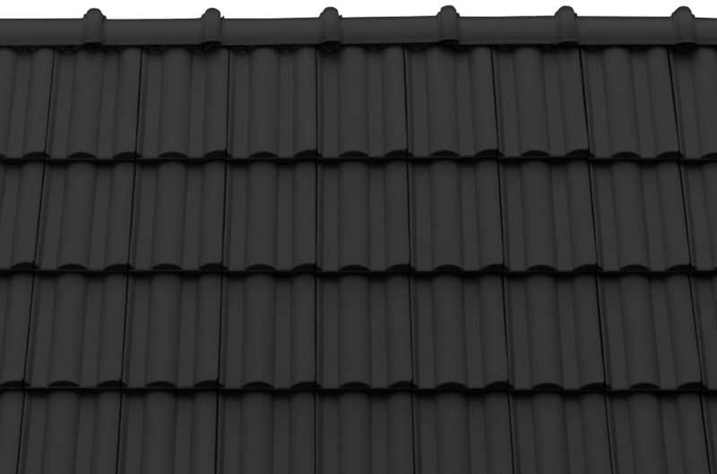 Tondach Twist tetőcserép antracit