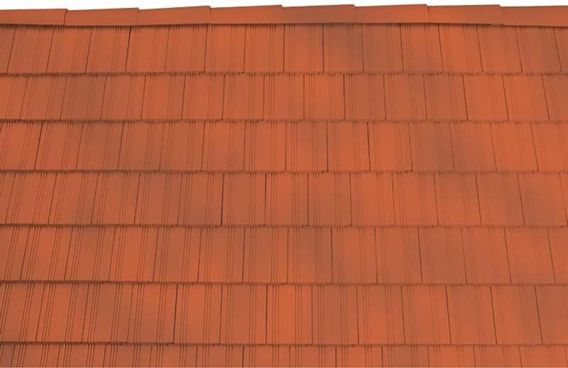 Tondach Kékes egyenesvágású tetőcserép antik